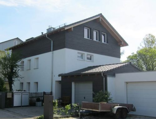 AUFSTOCKUNG 2015 | Pfarrstraße – Germering